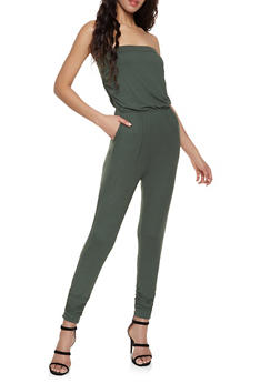 12fbb1dfb5f2 Strapless Soft Knit Jumpsuit - 1045058753374