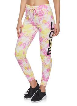 Tie Dye Love Joggers - 1056001440081