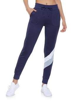 Chevron Detail Sweatpants - 1056001441031
