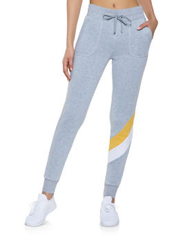 Chevron Detail Sweatpants - 1056001441031