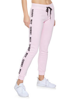 Sorry Not Sorry Joggers - 1056038343521