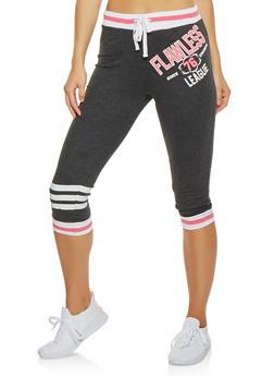 Flawless Graphic Capri Sweatpants - 1056038346104
