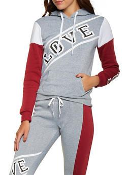 Love Pullover Sweatshirt - 1056038347020