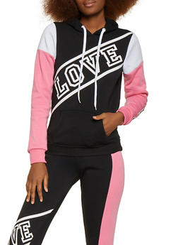 Love Pullover Sweatshirt - 1056038347020