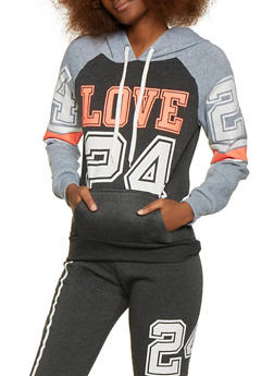 Love 24 Pullover Sweatshirt - 1056038347170