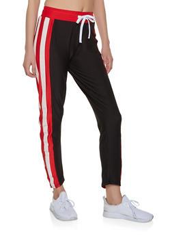 Side Stripe Active Pants - 1056038347213