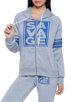 Savage Graphic Sweatshirt - 1056038347340