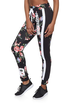 Brooklyn Athletic Dept Graphic Printed Joggers - 1056038347351