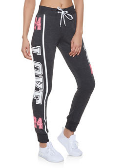 Love Graphic Sweatpants | 1056038347353 - 1056038347353