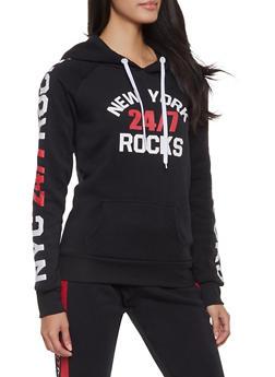 New York Rocks Graphic Sweatshirt - 1056038347360