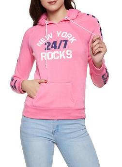 New York Rocks Graphic Sweatshirt - 1056038347360