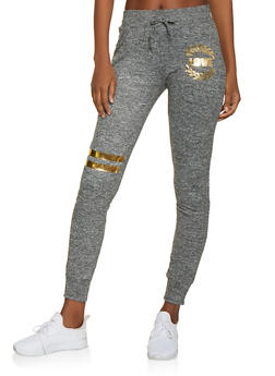 Love Graphic Joggers - 1056038348631