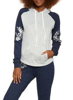 Love Crest Foil Graphic Sweatshirt - 1056038348650