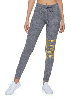 Love Graphic Sweatpants | 1056038348671 - 1056038348671