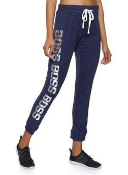 Boss Graphic Sweatpants - 1056038348691