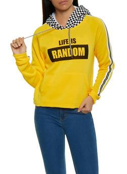 Life is Random Graphic Sweatshirt - 1056051060091