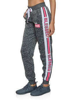 Always Blessed Knit Joggers - 1056051061581