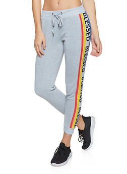 Blessed Fleece Lined Joggers - 1056051061601