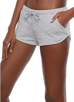French Terry Short Shorts - 1056054260464