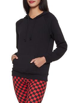Basic Hooded Sweatshirt - 1056054260674
