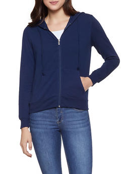 Zip Up Hooded Sweatshirt - 1056054260675