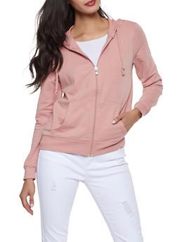 5b4e74fbfd Zip Up Hooded Sweatshirt - 1056054260675