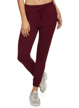 Solid French Terry Joggers - 1056054267761