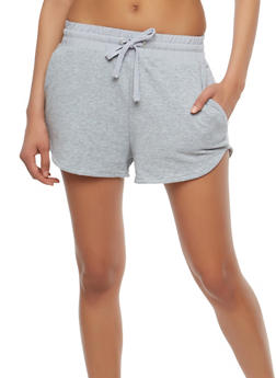 French Terry Activewear Shorts - 1056054268290