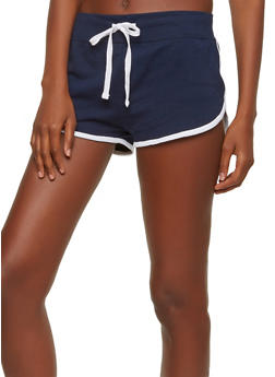 Contrast Trim Active Shorts - 1056054269396