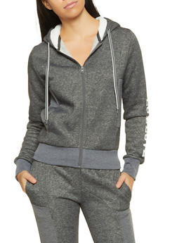 Love Sherpa Hooded Sweatshirt - 1056056721900