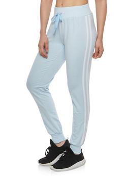 Side Varsity Stripe Sweatpants - 1056072290117