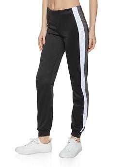 Striped Side Joggers - 1056074013791