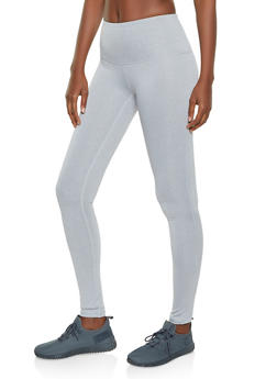 Reebok Active Leggings with Decorative Stitch - 1057076041813