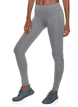 Reebok Active Leggings with Stitch Detail - 1057076041830