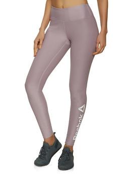 Reebok Solid Active Leggings - 1057076041842