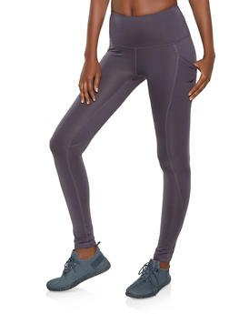 Reebok Fleece Lined Active Leggings with 2 pockets - 1057076041936