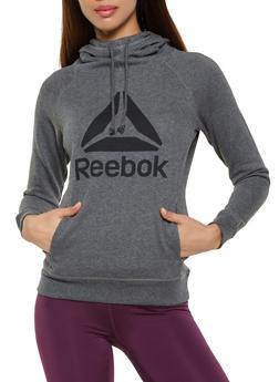 Reebok Hooded Sweatshirt with Logo - 1057076048319