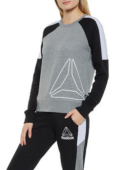Reebok Long Sleeve Crew Neck Sweatshirt - 1057076048327