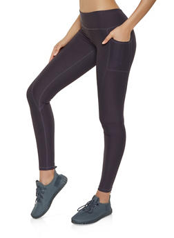 Reebok 2 Pocket Active Leggings - 1057076048422