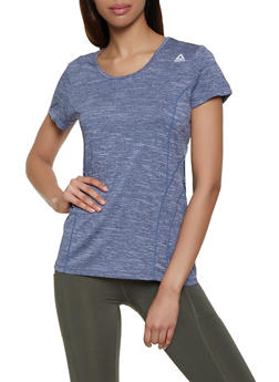Reebok Active Tee with Detailed Stitching - 1057076049117