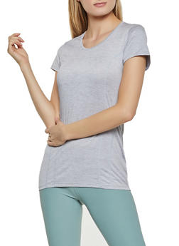 Reebok Active Top with Stitch Detail - 1057076049202