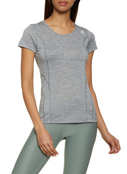 Reebok Active Tee with Decorative Stitching - 1057076049203