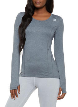 Reebok Active Top with Decorative Stitch - 1057076049301