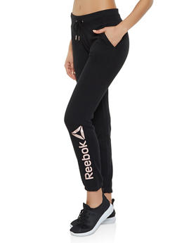 Reebok Joggers with Drawstring Waist - 1057076049302