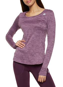 Reebok Scoop Neck Active Top - 1057076049304