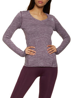 Reebok V Neck Active Top - 1057076049308