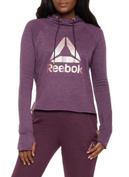 Reebok Fleece Lined Hooded Sweatshirt - 1057076049336