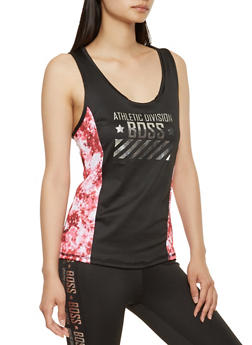 Boss Graphic Activewear Tank Top - 1058038345580