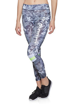 Printed Love Graphic Activewear Leggings - 1058038346011