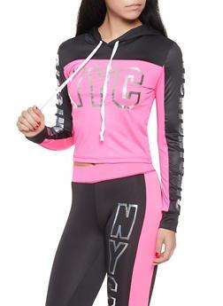 NYC Graphic Activewear Sweatshirt - 1058038346030